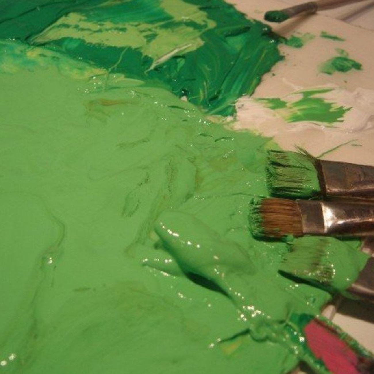 Estamos buscando el verde perfecto....yo creo que casi lo tenemos. Sinfiltros