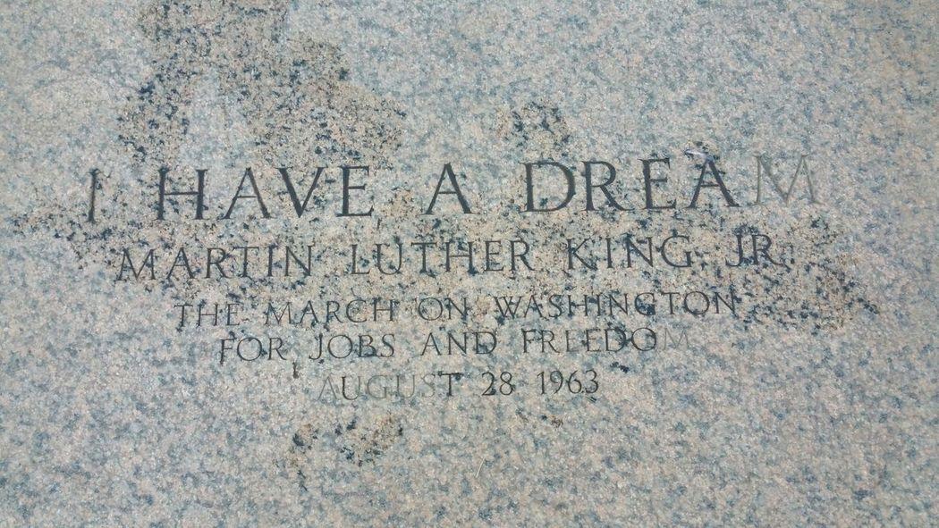MLK Memorial MLK. R.I.P.
