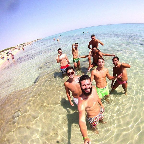 Sun Summer Sea Beach Friends Estate Gopro Goprohero Travel Campomarino Puglia Apúlia Italy Solocosebelle Comitiva Love Like Passion