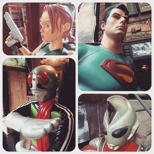 Supernatural Laracroft Superman Maskrider Ultraman baanmaichaynum