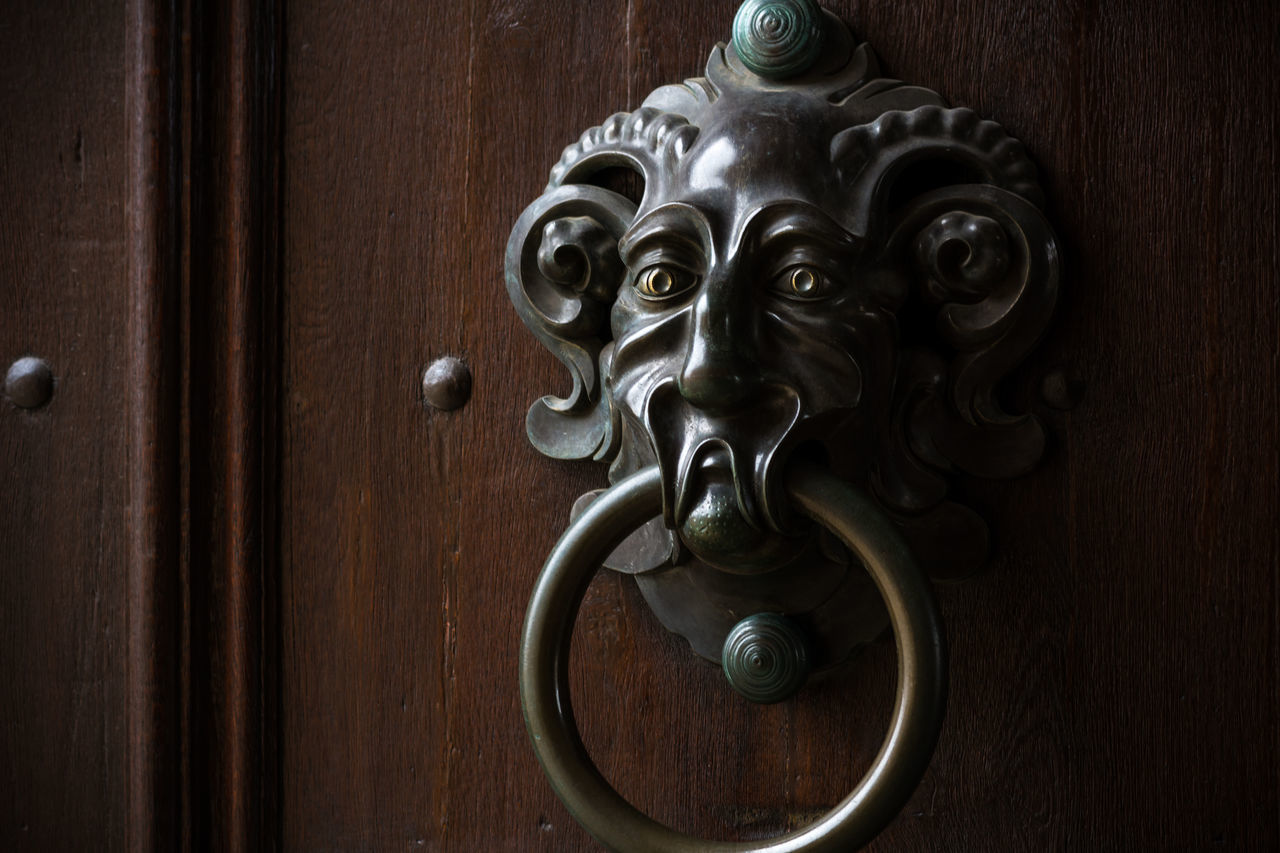 Door Knob Neue Residenz Bamberg Animal Representation Art And Craft Bamberg  Bamberger Close-up Detail Door Germany Hanging Knob Metal Museum Negative Space Neue Residenz Old Old Architecture Old-fashioned Ornate Residence Rosengarten Shiny Single Object UNESCO World Heritage Site Wall Wood