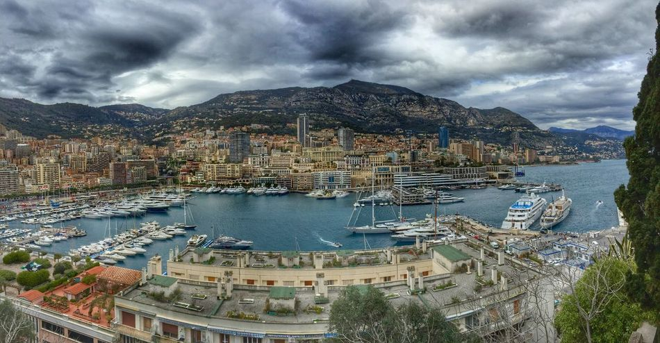 Clouds rolling in over Monaco. Clouds And Sky Harbour View Boats Yacht Harbor Yachts Hillside Unique Places Superyacht Millionaire_lifestyle Getty X EyeEm Residential District Montecarlo Seascape Clouds & Sky Clouds EyeEm Gallery Côte D'Azur Sea And Sky Check This Out Monaco