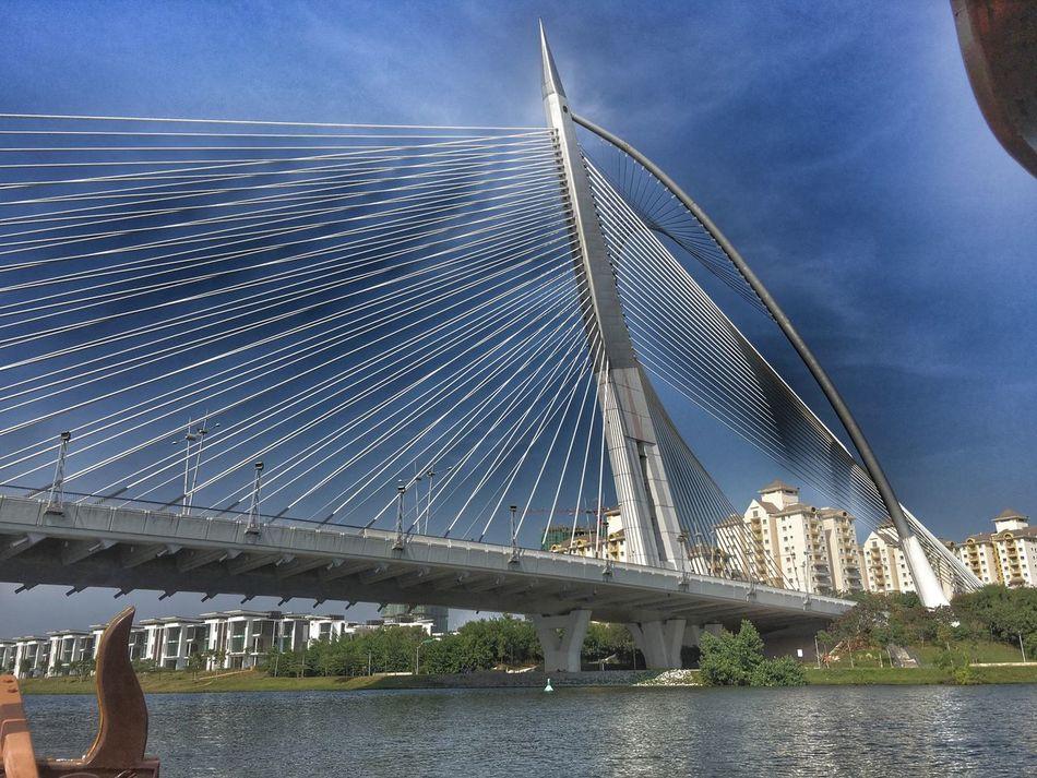 Putrajaya,malaysia Bridge Reiimy Iphone6splus Taking Photos Onthesampan Relaxing EyeEm