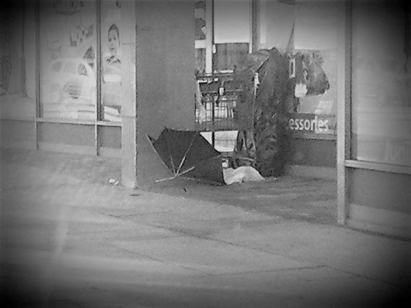 Street Life Black And White
