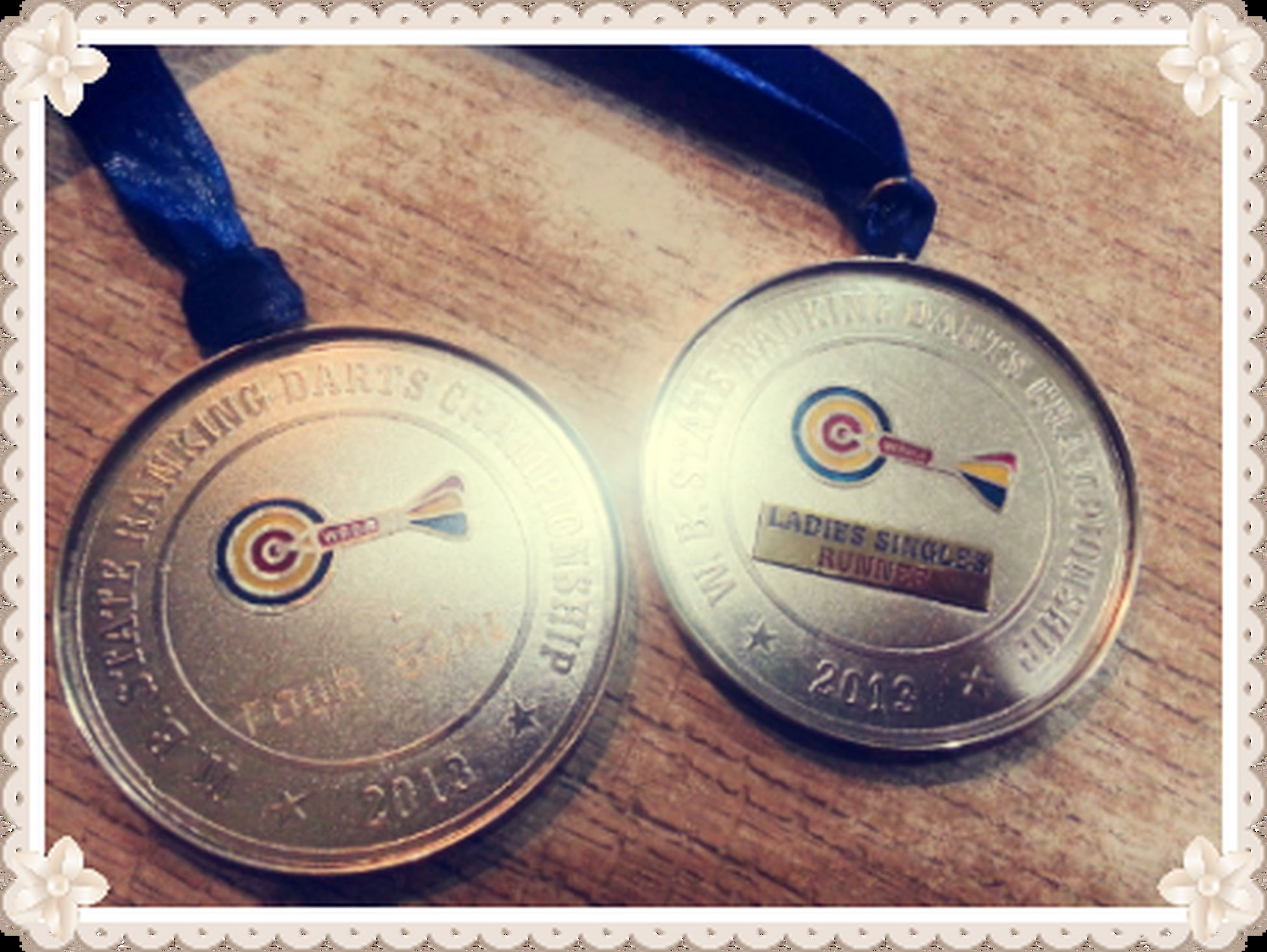 Darts Stateschampionship Medals Happiness ♡