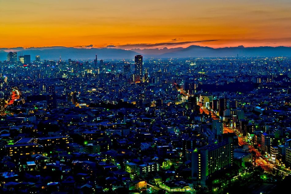 Landscape Magichour 名古屋 Nightphotography Night View 夜景