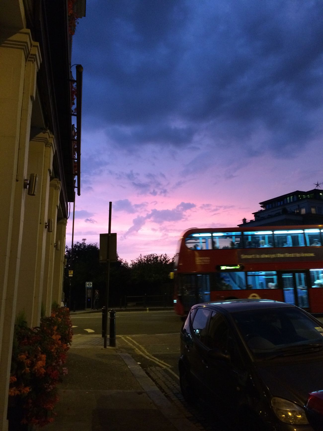 City Life Sunset London London Bus London By Night Sky Dusk City Night