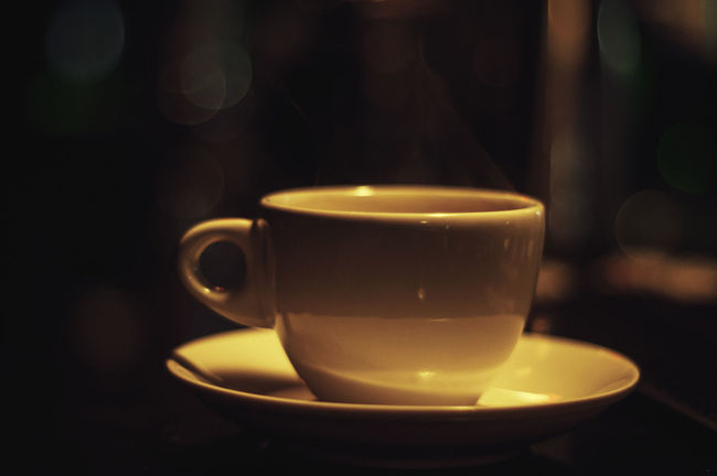 Coffee time Enjoying Life Darkness And Light Home Is Where The Art Is Fine Art Bokeh Taking Photos EyeEm Best Shots Eye4photography  43 Golden Moments
