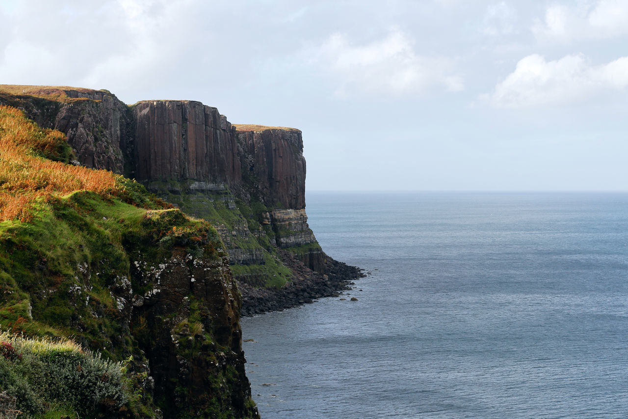 Beauty In Nature Cliff Coastline Day Grandness Kilt Rock Landscape Landscape_Collection Landscape_photography Nature No People Outdoors Outlook Rock - Object Scenic Scenic View Scenics Scotland Scottish Highlands Sea Sea Cliff Silence Sublime Tranquility