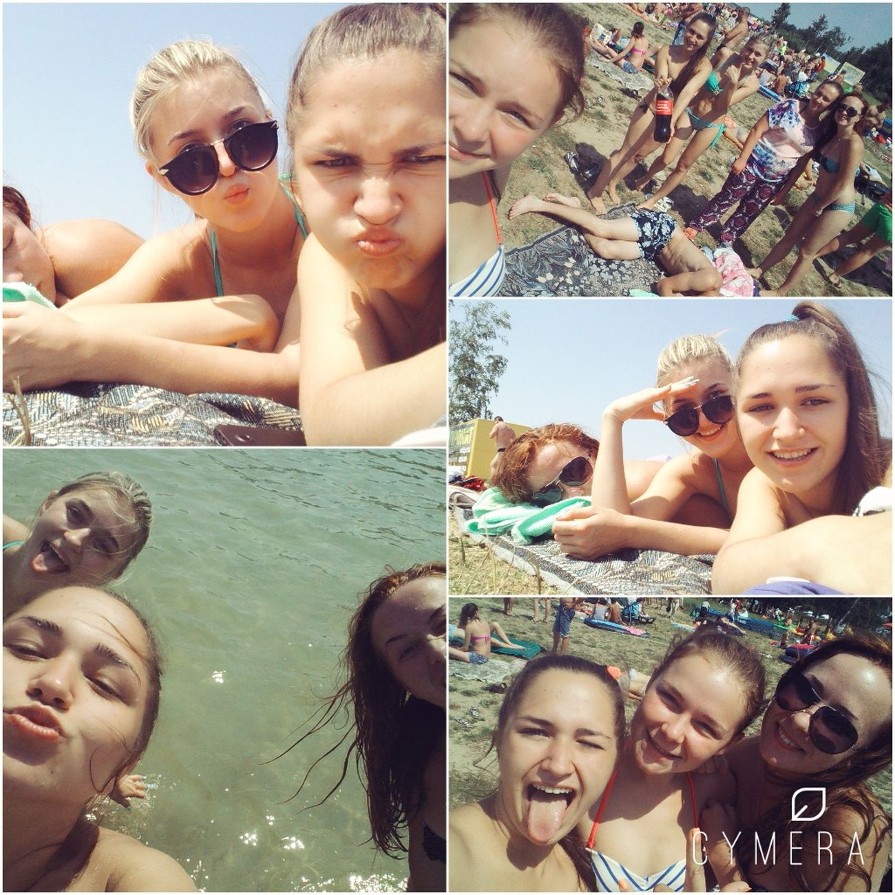 Beatchplease Svitjaz Friends ❤ Sweet♡ 18 Year Haha Lake Summer ☀ Sunny☀