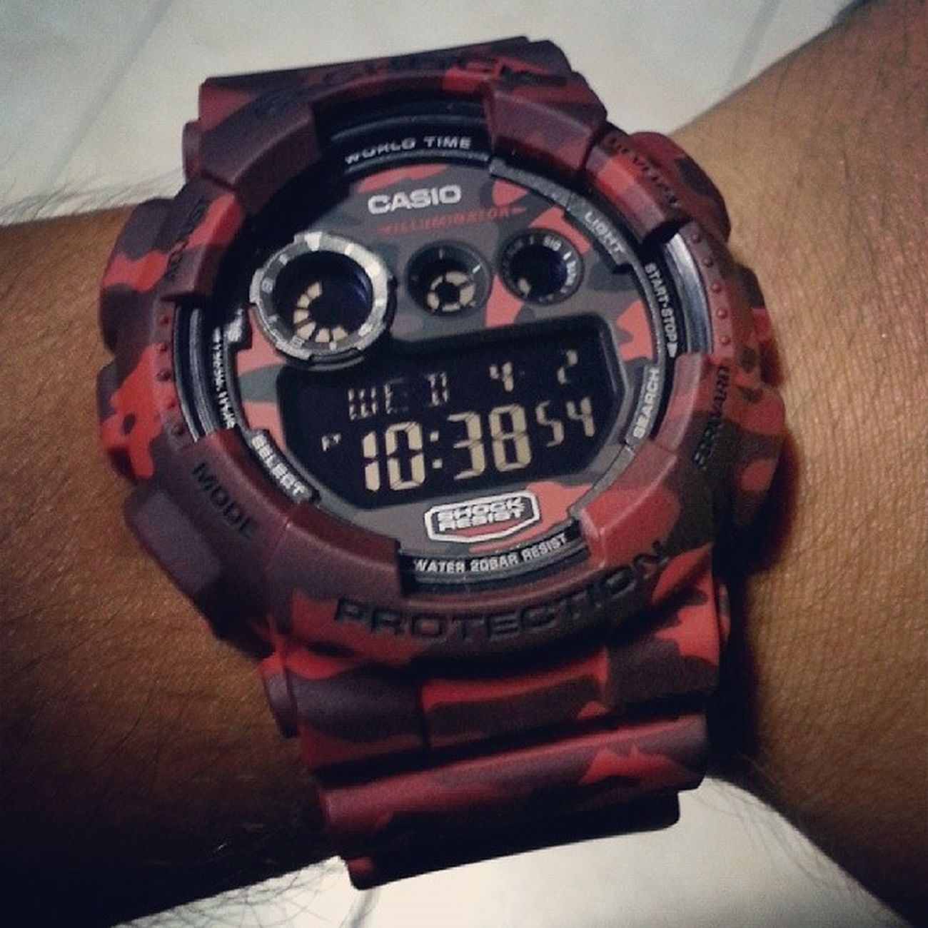 Achievement unlocked!! Gshock Gd120cm Gd120 Camo P.s: I did not buy this at a shop.. thehustleisreal