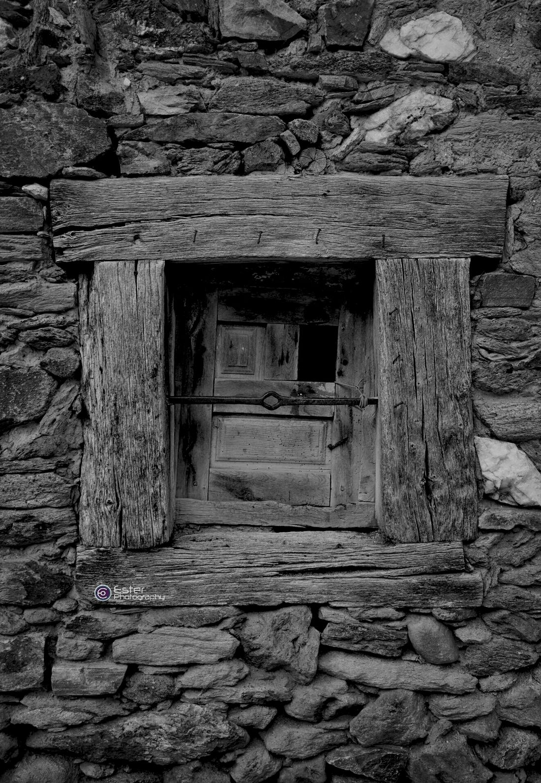 Little Windows in Black And White Eye4photography  Old Architecture
