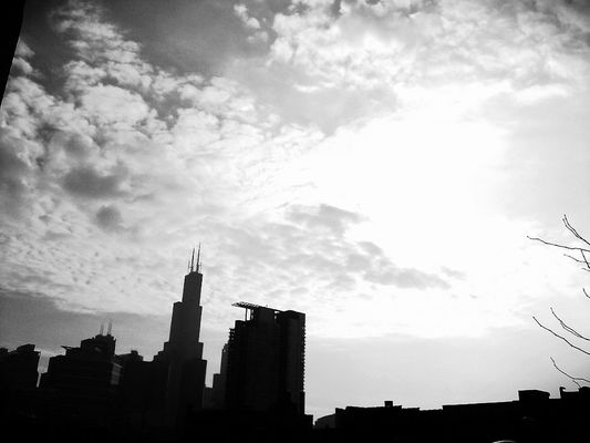 blackandwhite in Chicago by ssssandra