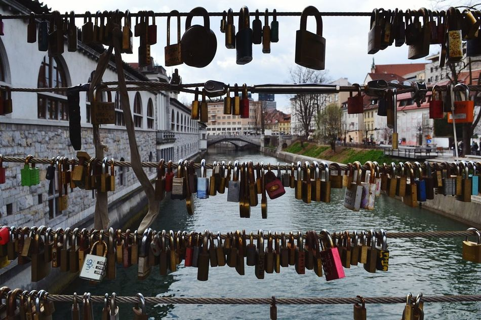 Meanings Lubiana Lubljiana Slovenia Slovenija River Bridge Meanings Love Amore Padlock Padlocks Lucchetti City Water Feel The Journey Original Experiences Showcase June My Year My View