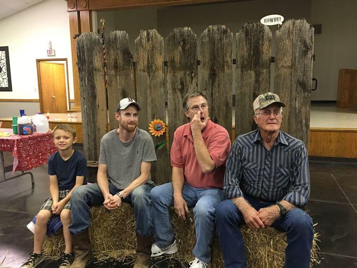 EyeEm Selects 91 Years Young 4 Generations  Celebration happy birthday Texas Boys