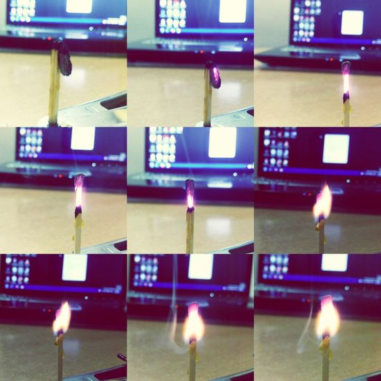 Rules Of Life Are  Same  Like This Matchstick