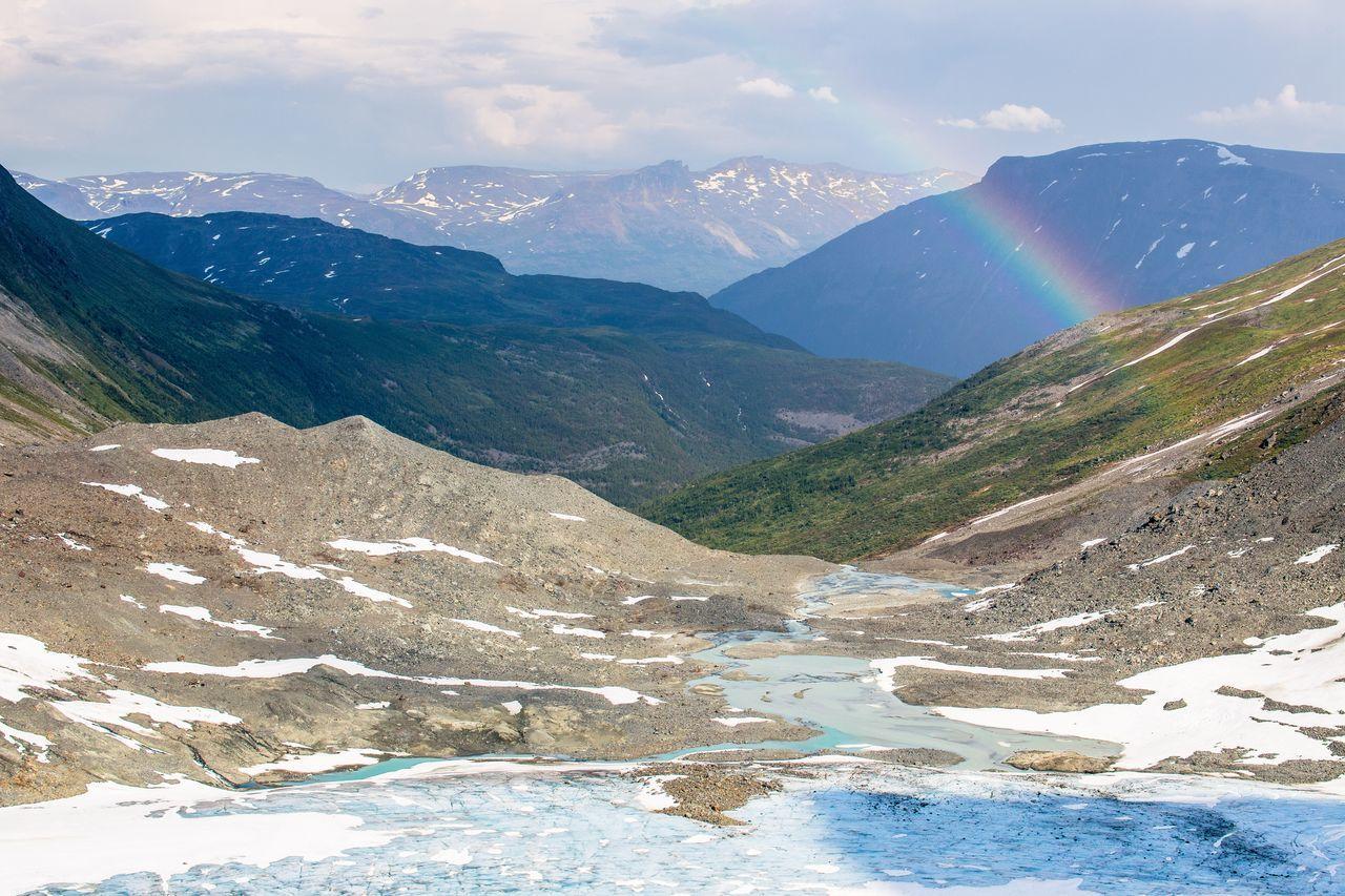 Beautiful stock photos of regenbogen, Beauty In Nature, Day, Glacier, Landscape