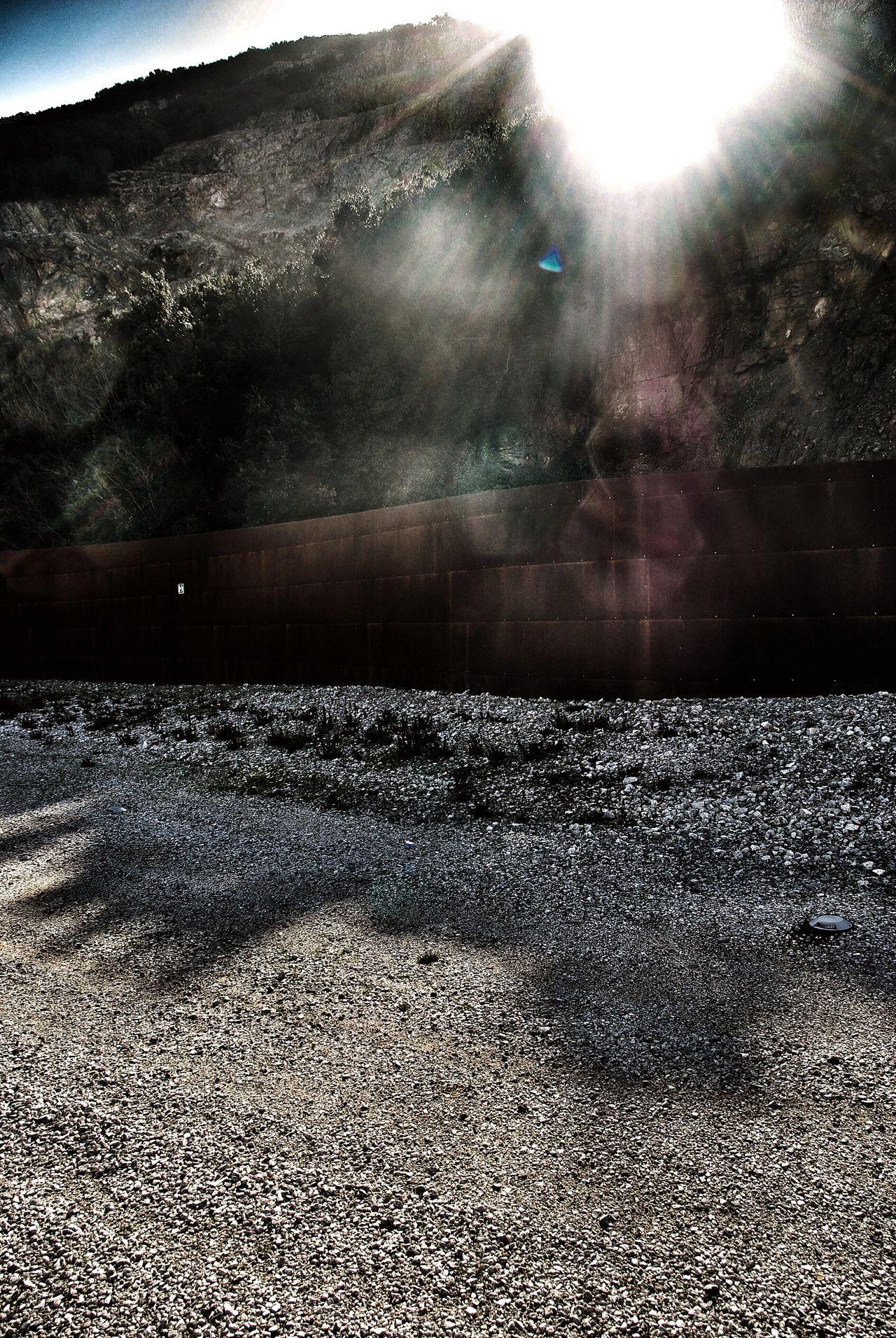 Q Quarry Gavorrano Italy Tuscany Museo Minerario Parco Delle Rocce Corten Steel Fence