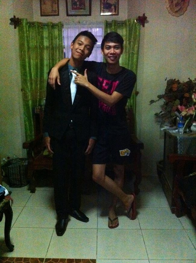 With Lil Bro JS Prom