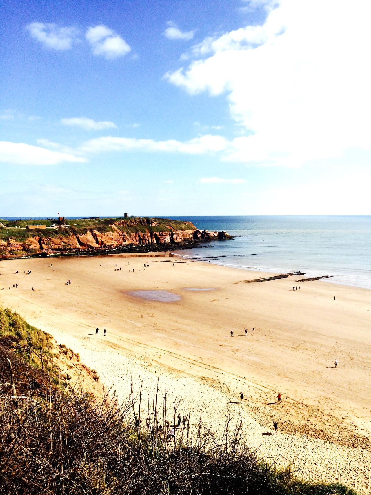 The Amazing Devon Cliffs sandy bay beach