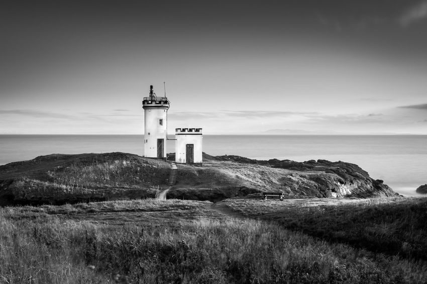 Fife Scotland Fine Art Photography Scotland Architecture Beauty In Nature Black And White Building Exterior Built Structure Day Nature No People Outdoors Scenics Sky Water