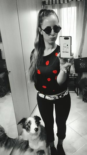 Outfit Aperitivo  Sempreinsieme Amarsi Calliope Bordercolliebluemerle Bordercollie  Crazydog Crazygirl Hello World Noielapazzia