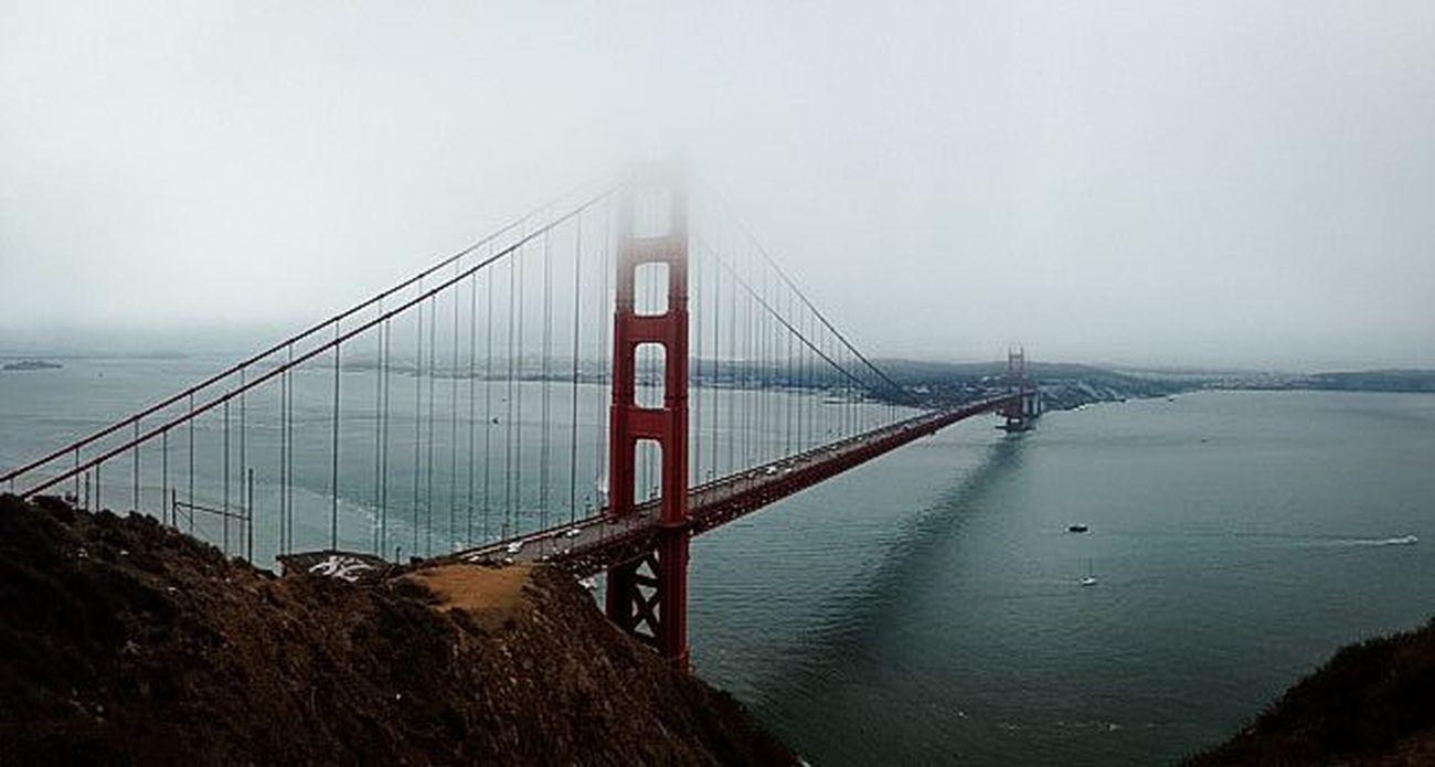 Шикарный вид в фотографии друга, который уехалжитьв в Австралию . страны , в которых хочется побывать....мечты дальниестраны путешествия впечатления река мост золотой санфранциско америка Photo Friend Dreams Country Travel River Gold Bridge Sanfrancisco America
