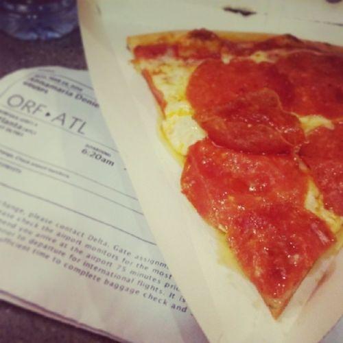 Pizza fo breakfast Layovers