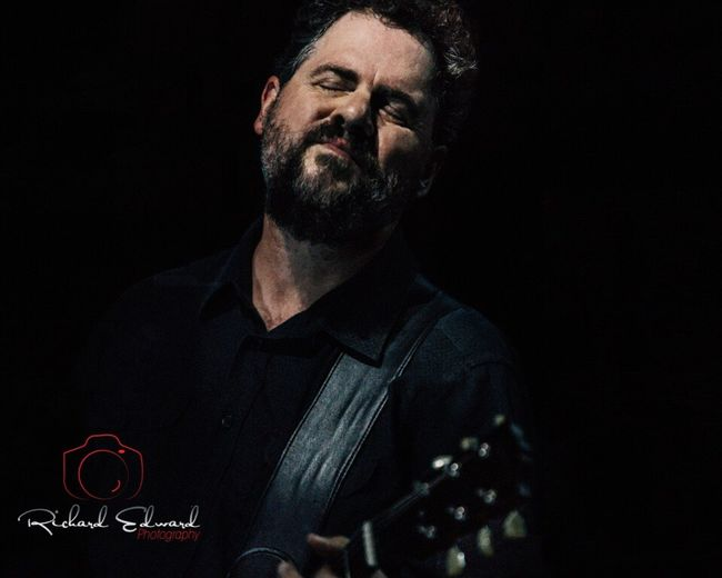 Patterson Hood is an American singer-songwriter and co-founder of the band Drive-By Truckers Concert Photography Portrait