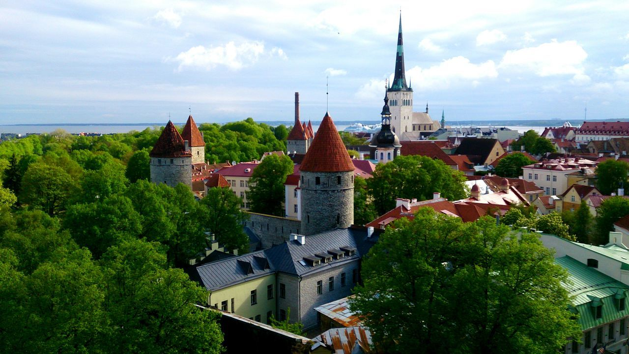 Tallinn Roofs and Towers . Mobile Photography Mobilephotography Sony Xperia Zr Perspective Cityscapes Cityscape Architecture Photography Old City View  Historical Monuments TOWNSCAPE Tourism Tourist Attraction  A Bird's Eye View A Bird's Eye View