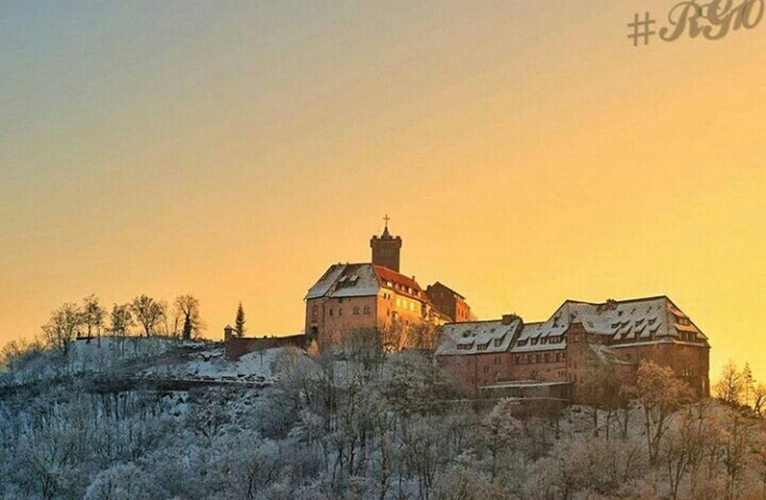 Wartburg In Eisenach/ Germany Sunset Tree Cultures Nikon_photography Nikond5300