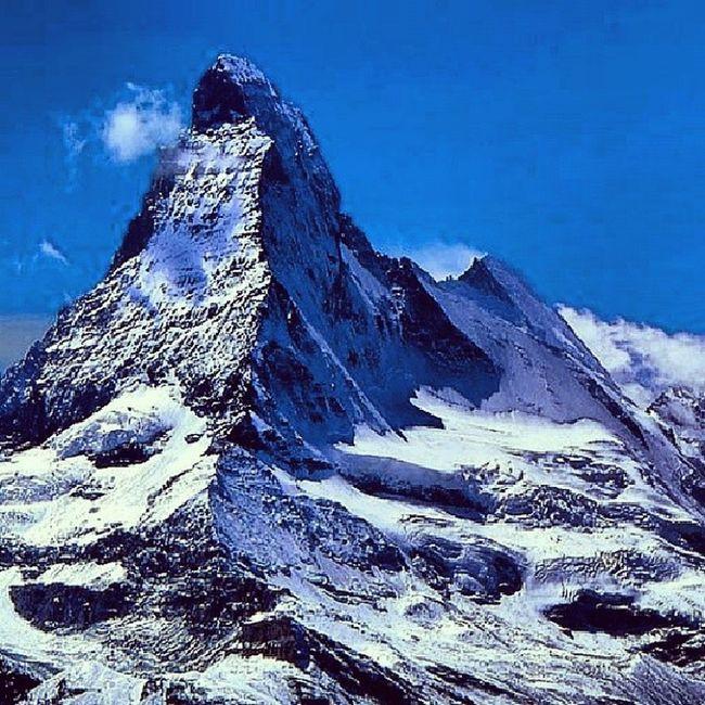 Matternhorn Schwitzerland Mountains Stone moutaineering2013natureadrenalinsvycarsko