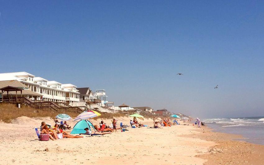 Atlantic Ocean Surf City NC Topsail Island, NC Beach Photography Beach Life Beach Ocean❤ Ocean Life Shoreline Sand & Sea Sandy Beach