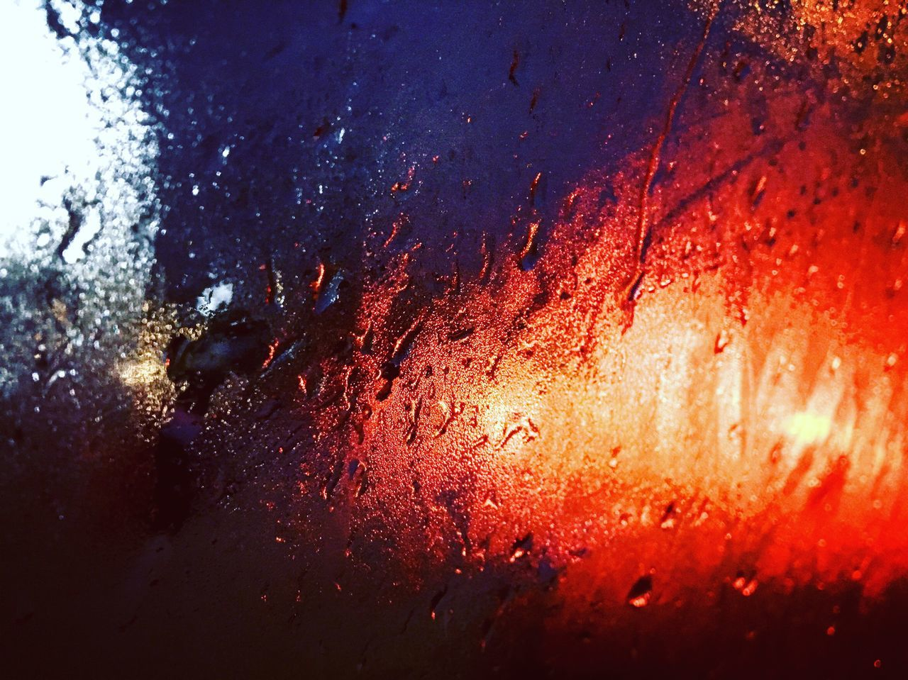 When the streets lights is crows of the window of car and make a difference view like painting. I like the reflection of lights specially powerful colors like blue and red Red Red Color Red Light Colors Rot Blau Und Rot