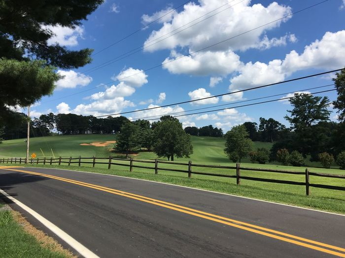 Road Tree Golfcourse