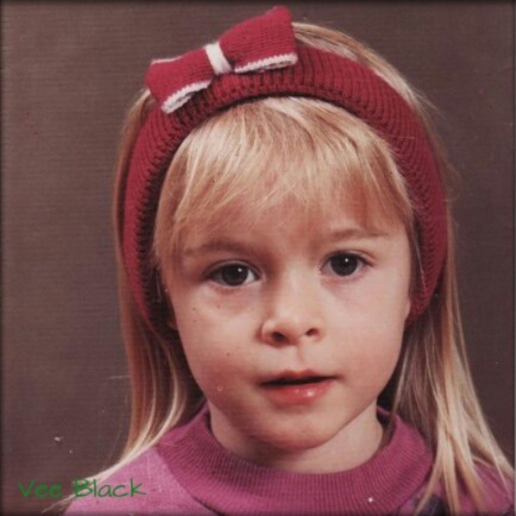And this is cute little Vee at (I think it was) age 4 (or almost 5...) LittleVee