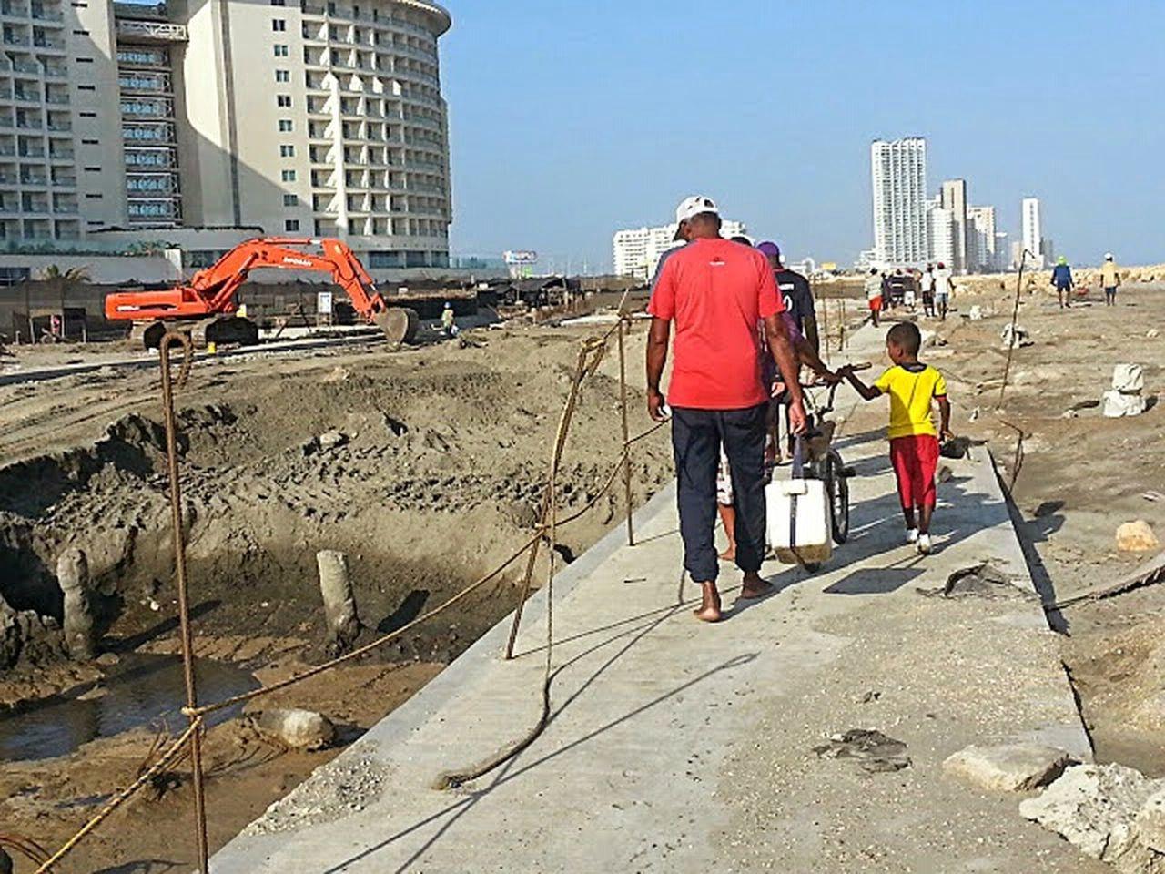 Hotel Corales De Indias Túnel En Construcción Ayer - Hoy Under Construction... Tunel De Crespo Construction Tunnel View