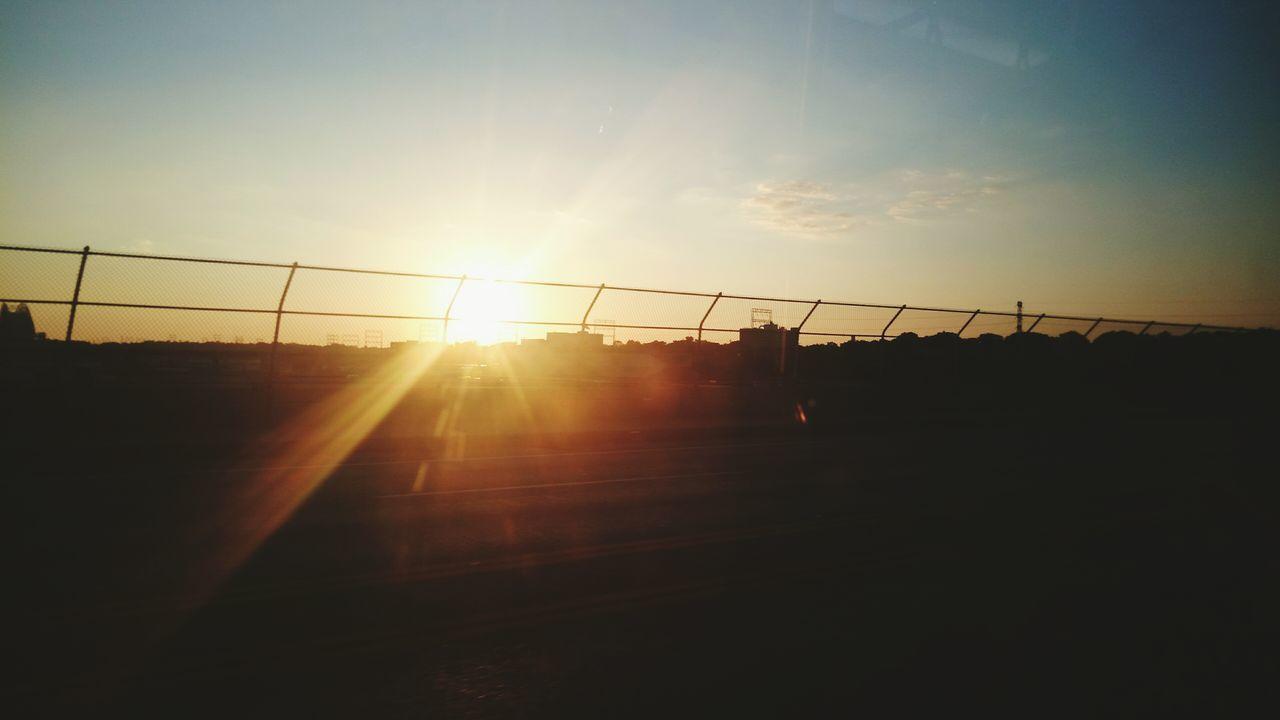 ゆうひ.... Hello World Enjoying Life Melancholic Landscapes Enjoying The Sights Sunset Silhouettes Sky ゆうひ Creative Light And Shadow