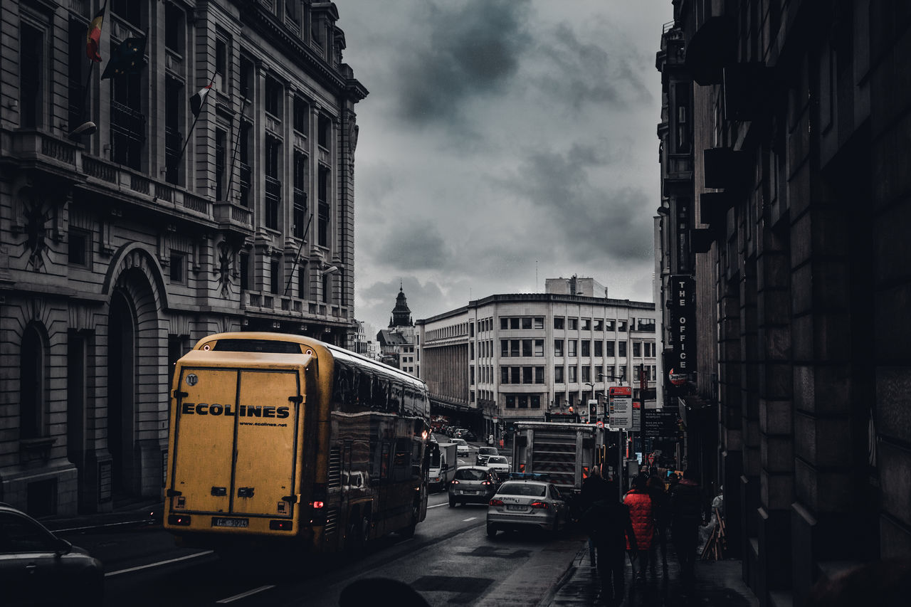 City Building Exterior Architecture Built Structure Outdoors No People Day Sky Colors Europe Exploring Travel EyeEm EyeEm Best Shots EyeEm Best Edits Eye4photography  EyeEm Gallery Brussels Travel Destinations Traveling Bus Buildings Window Low Angle View Love