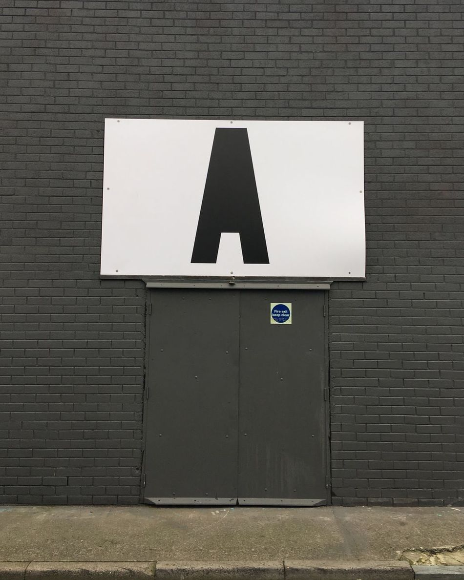 The A game Alphabet City Itsliverpool Welcome To Black