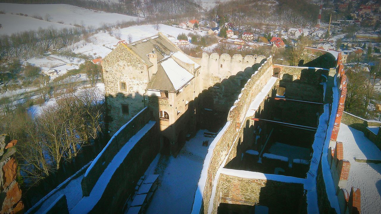 Winter Wonderland Wintertime Clear Sky Castle Bolków Castle Sun Poland New Place After Study My Country Step To The Past History Place Snow ❄ Make A Snowman⛄