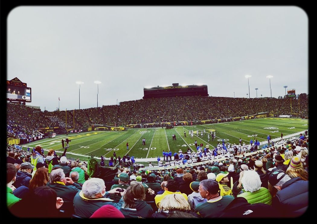 Autzen Stadium Oregon Ducks Panorama Captured With My Note 3