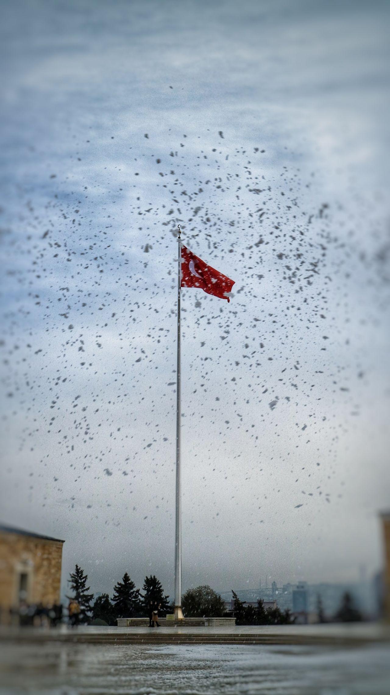 Anıtkabir Flag The Week On Eyem Taking Photos Eye4photography  Ankara Snow Winter Architecture