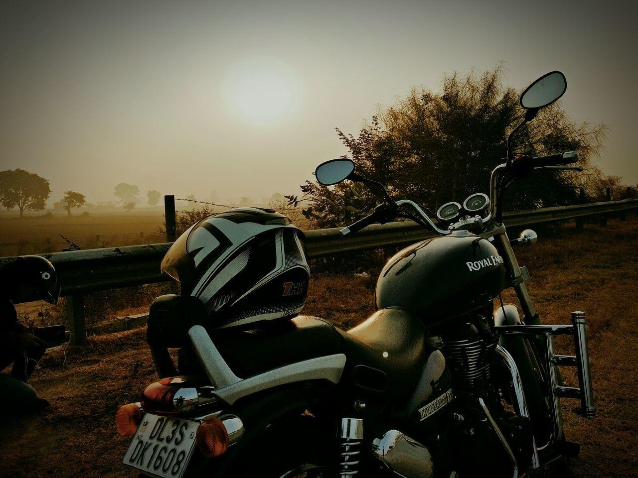 Outdoors Sunset Roadtrip Highway Biketour Bikeride Biketrip Cruiser Bikes