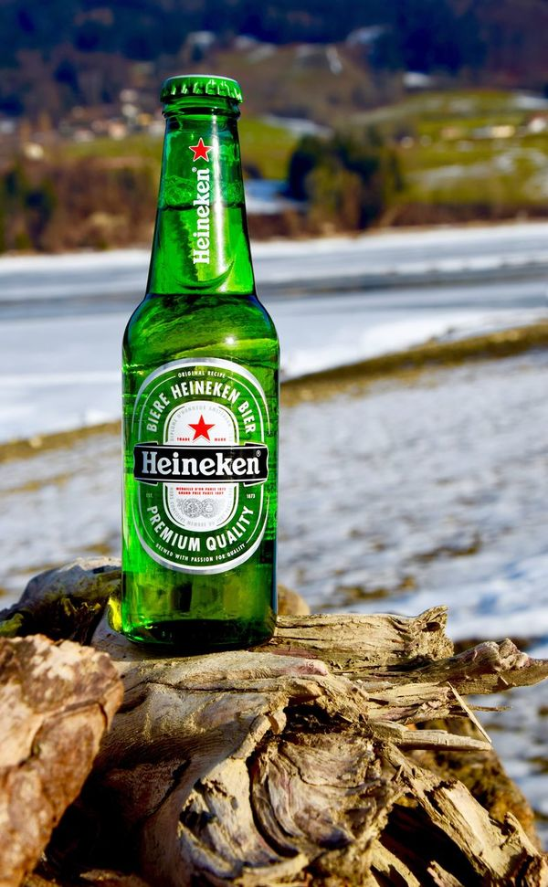 Cold Temperature Freshness Have A Beer Heineken Outdoors Photography Photography In Motion Photooftheday Sunset Switzerland Take A Break Wintertime