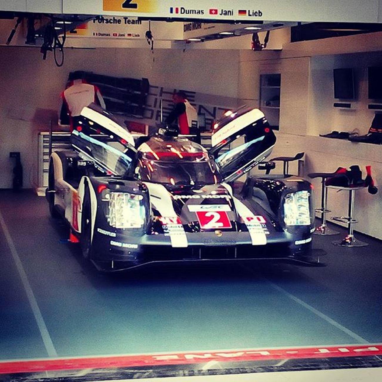 Spa Francorchamps Porsche Hybrid 919 FIAWEC 6hours Pitlane