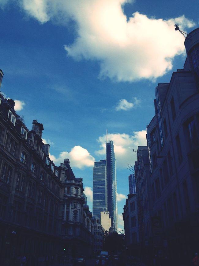 Architecture Buildings Sky Clouds