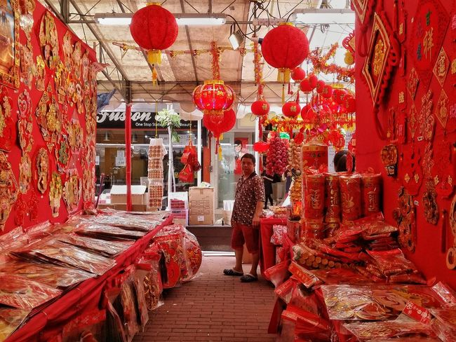 Chinese Religion Religious  Prayer Red People Streetphotography Street Photography Showcase: January Festival Store Retailstore Commerce Tourist Market