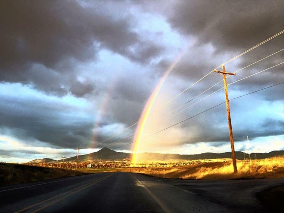 Rainbow Oregon Southernoregon Phonetography