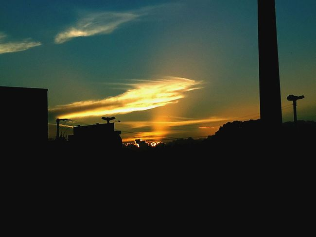 Nature Sunset And Clouds  Feeling Inspired Justamazing Jehovahtheartist Landscape_Collection
